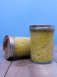 DIY Minced Garlic in Jars