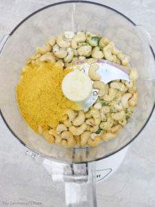 Vegan Parmesan Blender 1